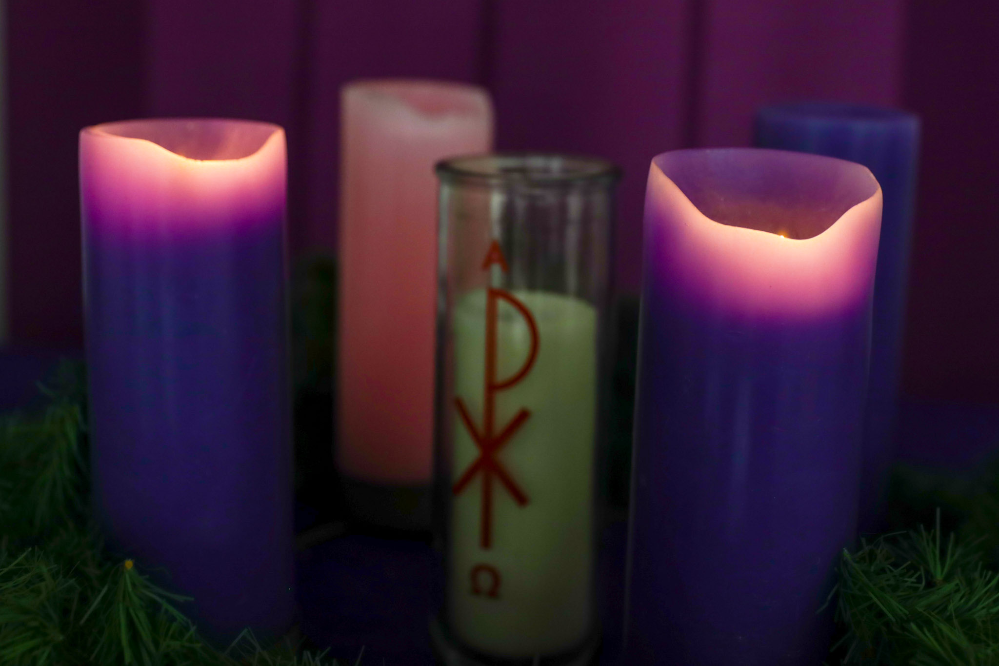 Light the Advent Candle Two