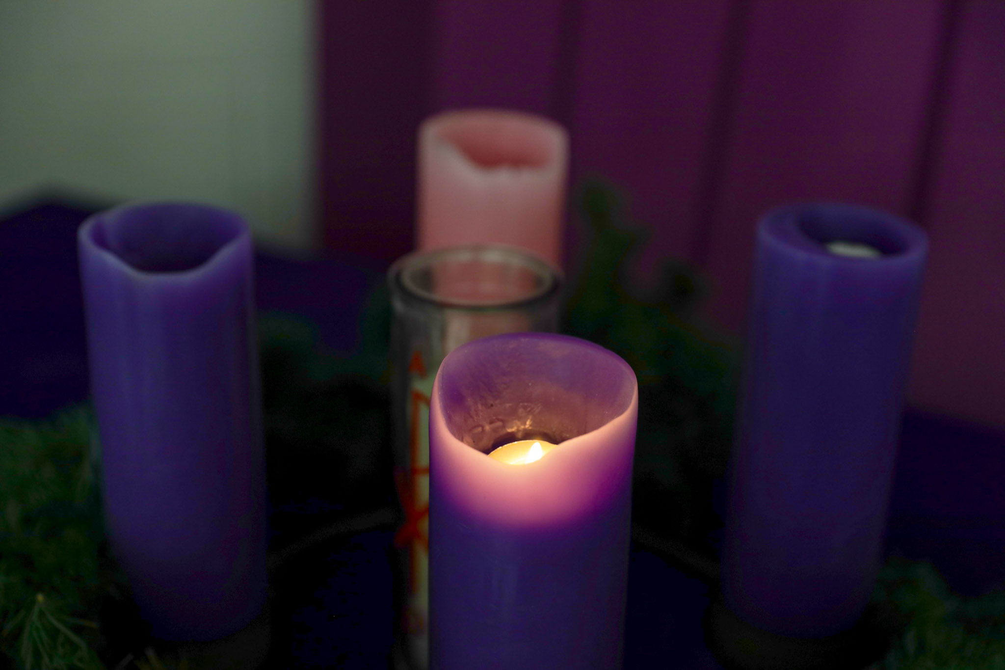 Light the Advent Candle One