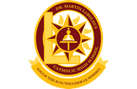 Dr. Martin LeBoldus Catholic High School logo