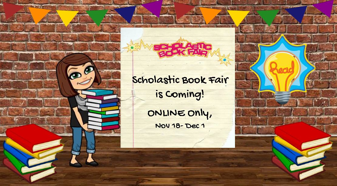 Scholastic Book Fair - On Line Only