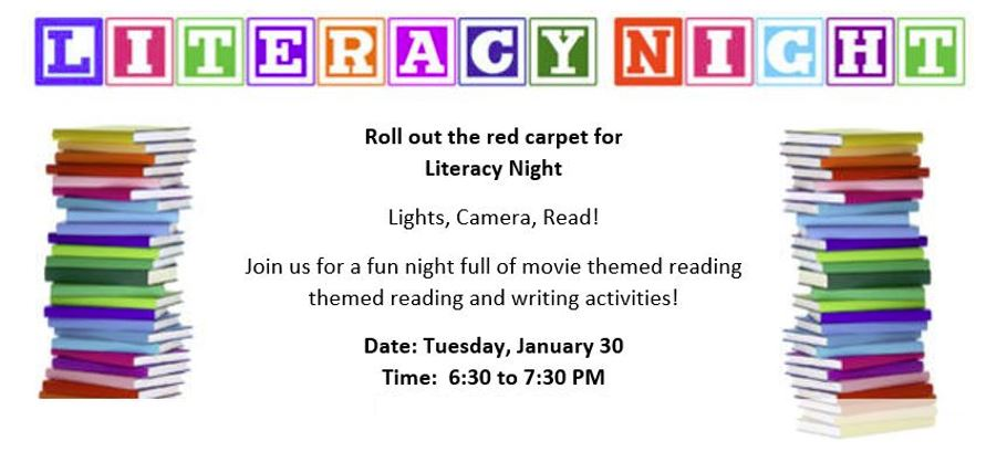 Roll Out The Red Carpet For Literacy Night