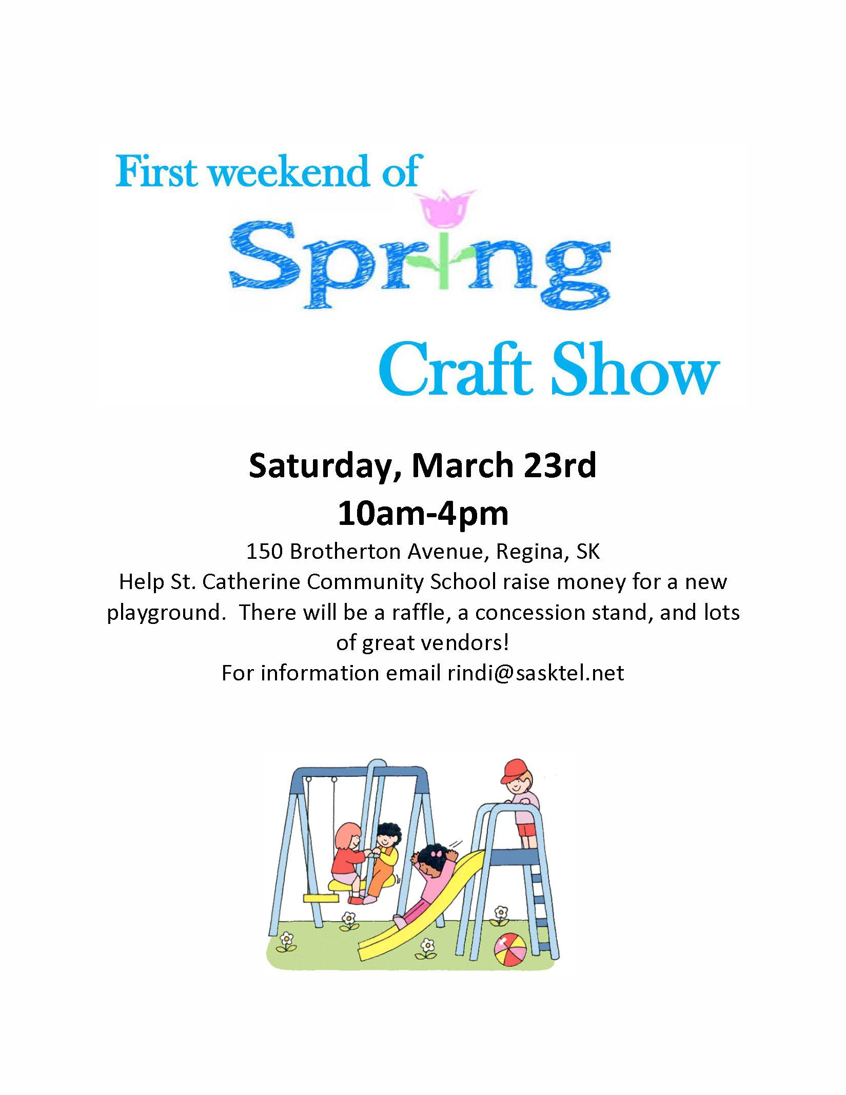 St. Catherine Arts and Craft Show March 23, 2019