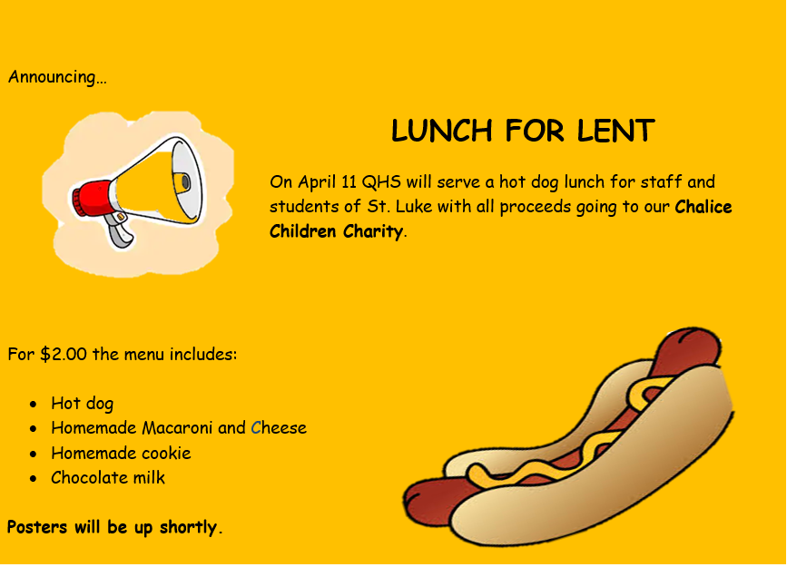 Lunch For Lent