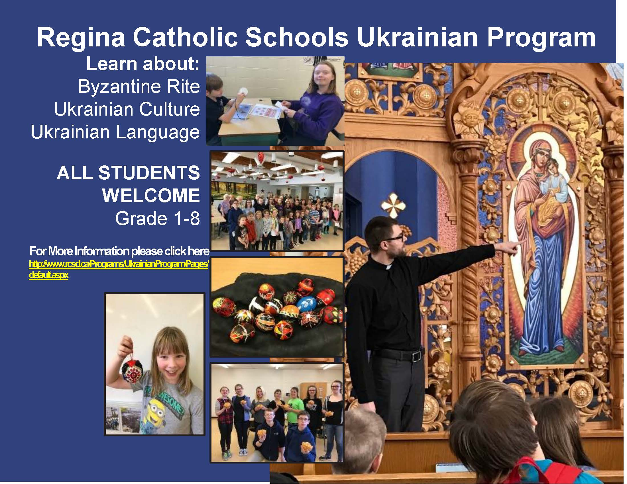 Regina Catholic Schools Ukrainian Program
