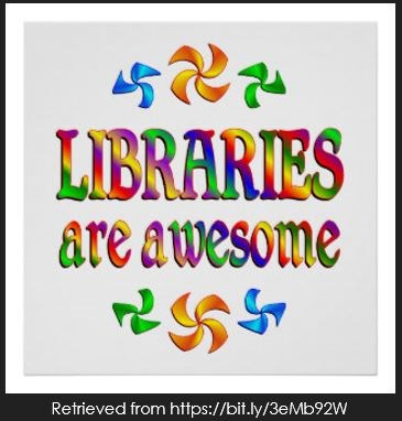 Mrs. Hammond thinks Libraries are Awesome