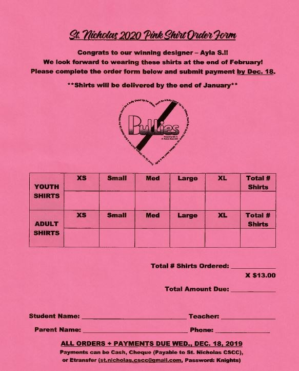 Pink shirt day order form.JPG